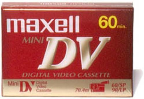 T38614 Maxell 298017 MiniDV Videocassette