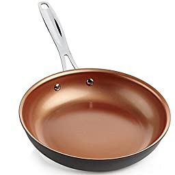 NuWave 9 Inch Hard Anodized Aluminum Skillet Fry Pan For Use With PIC