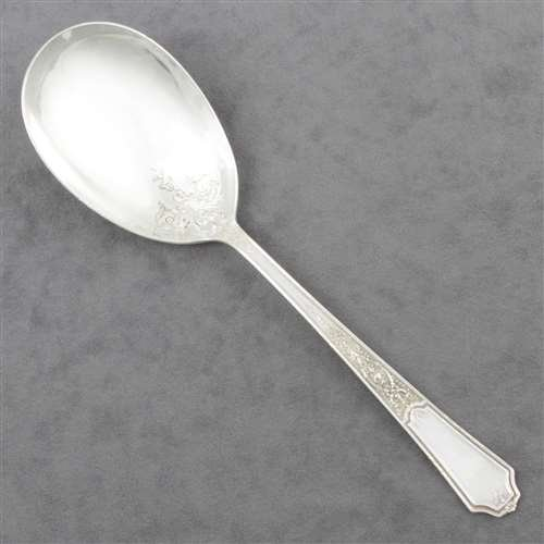 Ancestral by 1847 Rogers, Silverplate Berry Spoon
