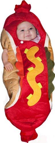 [Lil039; Hot Dog Costume - Infant] (Hot Dog Baby Costumes)