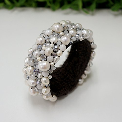 white-freshwater-pearl-bangle-for-girls-women-thai-bangles-decorations-with-freshwater-pearl-stone-b