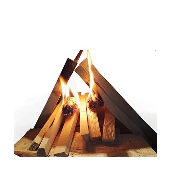Sacco da 3,5 kg di legna da innesco essiccata in fornace, per accendere fuochi di ogni tipo, inclusi falò, stufe… 4 spesavip