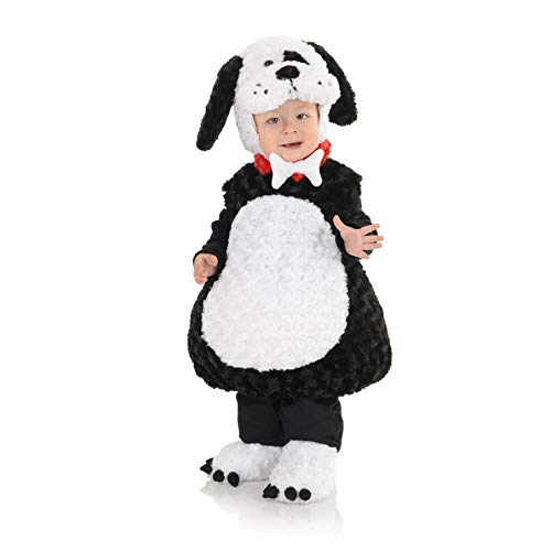 Underwraps Toddler Baby's Puppy Costume, Black X-Large (4-6) ()