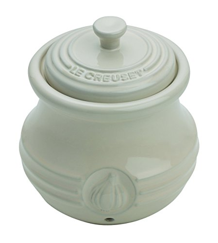 Le Creuset Stoneware Garlic Keeper, Almond ()