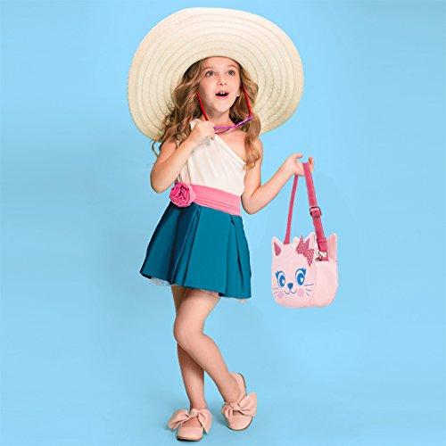 Ava Leather Girl Little amp; Faux Handbag Cat Candy Fun Design Kings Shaped Purse wqTFwp