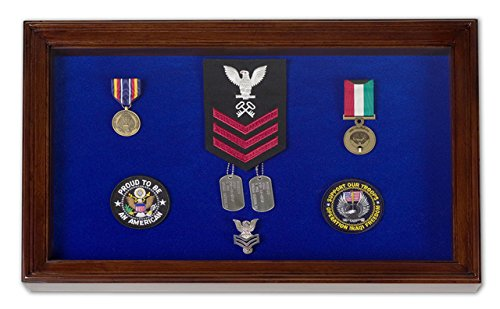 Display Case for Pins, Medals, Badges - Shadow - Pin Badge Box