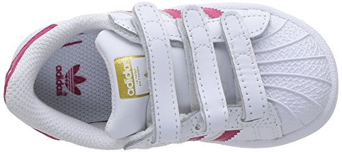 ftwwht Adidas Ftwwht bopink Foundation Basso A Infantile Collo Senakers Superstar zz1qBrnO