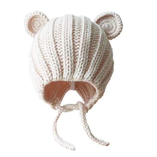 Et Fait D'hiver Laine Chaud Pour Beige Garçon Main Fille Bonnet En Bébé qZxHwz7n6