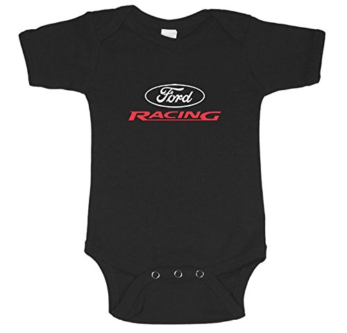 Amazon.com  Ford Baby Clothes Racing T-shirt One Piece Bodysuit ... 92e9a9c8ce1d