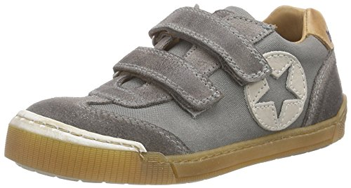Bisgaard Unisex-Kinder Velcro Shoes Low-Top Grau (112 Pewter)