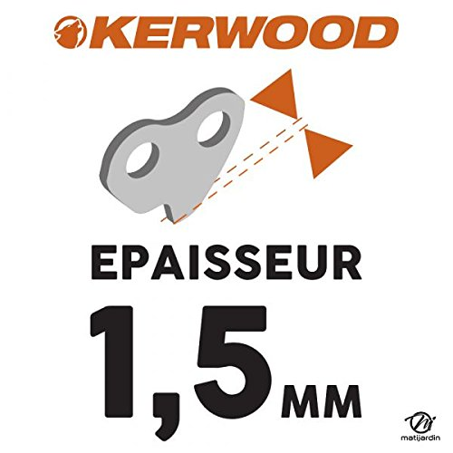 Chaine Kerwood pour JONSERED 2050 0,325 1,5 mm 72 maillons Pi/èce neuve