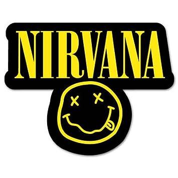 Nirvana smiley rock band vynil car sticker decal 6