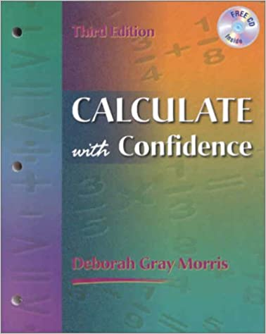 calculate with confidence book with cdrom