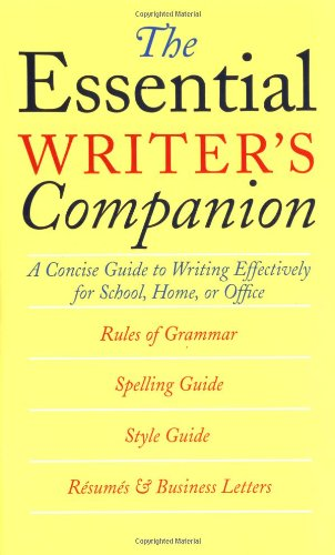 's Companion: A Concise Guide to Writing Effectively for School, Home, or Office (Heritage Home Office)
