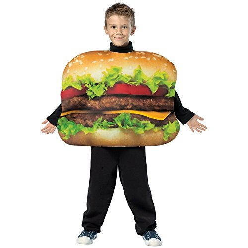 Get Real Cheeseburger Costume - One (Cheeseburger Child Costumes)