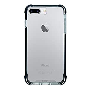 Gripp Monde Case For Apple iPhone 7 Plus (Compatible With Apple iPhone 6/6s Plus) Drop Protection, Anti-Shock, Anti-Scratch, Anti-Yellowing & Raised Edge - Black