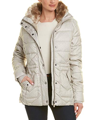 Barbour Womens Langstone Quilted Jacket, 14, Brown