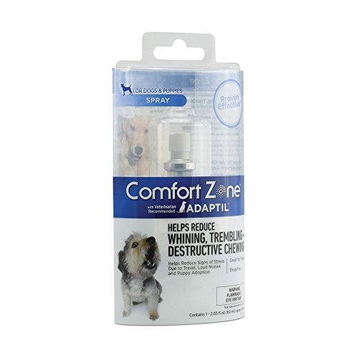Comfort Zone Adaptil Spray for Dogs, 60 mL, for Dog Calming from Comfort Zone