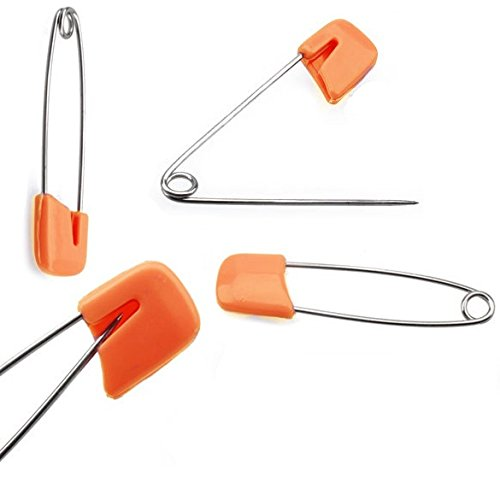 Colorful Safety Pins Locking For Baby Care Shower Cloth Diaper Pins