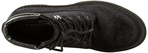 Comet a Windsor Donna Collo Nero Alto Sneaker Smith 001 Black ZR5nw5qg