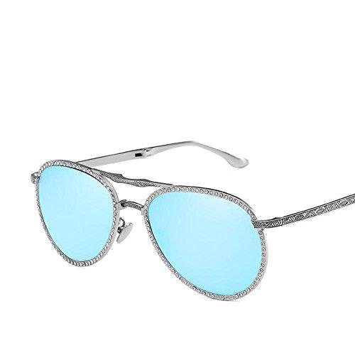 Aoligei pliable mâle et femelle diamant lunettes de soleil pilote Shing pilote universel portables lunettes de conduite OWpKgMmMx