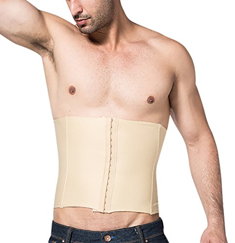 8f89a894d5 Niyatree Boys Mens Wasit Trainer Adjustable Hook Tummy Trimmer Slimming Belt  Lower Back Support Size XL