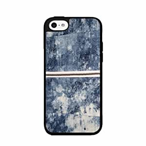Acid Wash Jeans TPU RUBBER SILICONE Phone Case Back Cover iPhone 5c