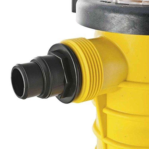 Mareva 07274 - Bomba de piscina caudal 21 m ³/h, potencia,1,2 CV, color amarillo: Amazon.es: Jardín