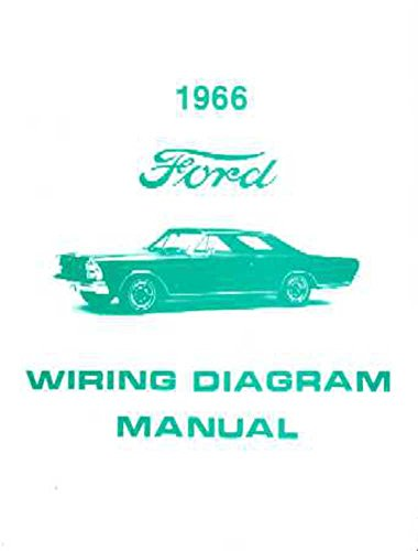 bishko automotive literature 1966 Ford Galaxie Electrical Wiring Diagrams Schematics Manual Book Factory OEM