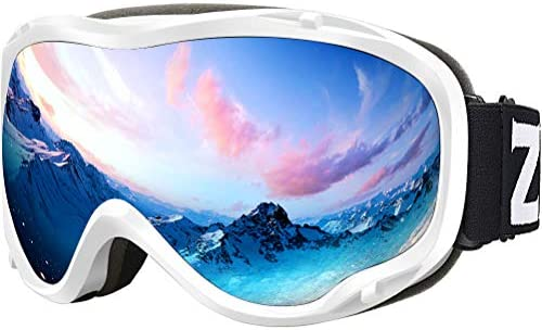 d2934da2ac73bf Zionor Lagopus Ski Snowboard Goggles UV Protection Anti-Fog Snow Goggles  for Men Women Youth