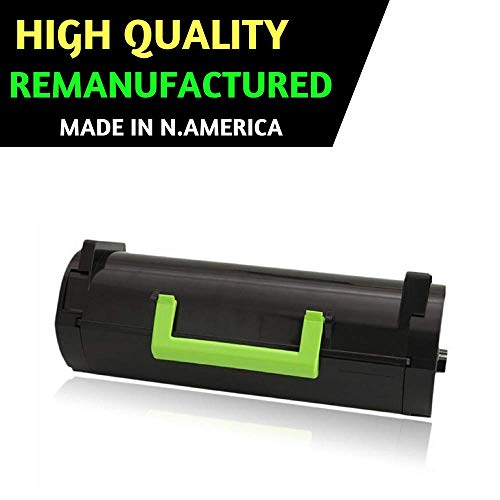 Best Toner for Lexmark 51B1H00 Remanufactured Black Toner Cartridge High Yield for MS417dn MS517dn MS617dn MX317dn MX417de MX517de MX617de by Best Ink & Toner