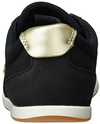Sport blk Rey gld Noir 2 1v7 Baskets Femme Lacoste Cfa 119