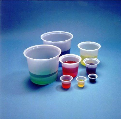 Eagle Thermoplastics B5-1000 Polystyrene Disposable Beaker, 5mL Capacity (Case of 1000)