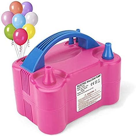 [해외]fipper 110V 600W Electric Balloon Blower PumpElectric Balloon Inflator for Decoration-RED / fipper 110V 600W Electric Balloon Blower PumpElectric Balloon Inflator for Decoration-RED