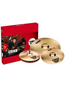 Sabian 4500214 B8 2-Pack With Free 14 - Inch Crash