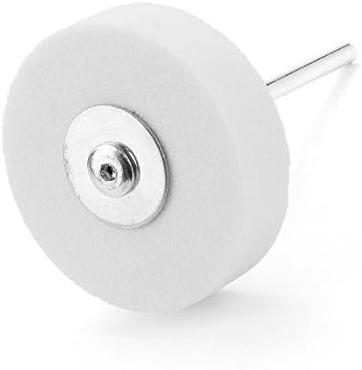 KUNSE 75 * 10 * 20Mm Schleifrad Schleifscheibe Hand Bohrer Politur Schleifstein Oder Faserrad-Weiß
