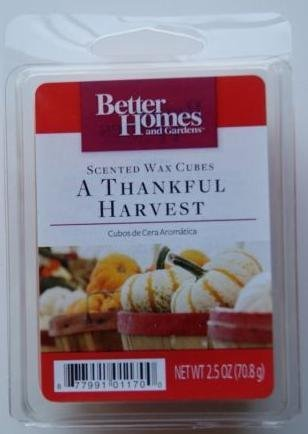 excellent better homes and gardens scented wax cubes. Better Homes and Gardens A Thankful Harvest Scented Wax Cubes Amazon com