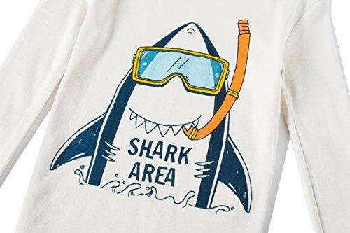 Boys Shark Pajamas Little Boys Toddler PJs Clothes Shirts & Pants Kids Sleepwear Size 5 by shelry (Image #5)