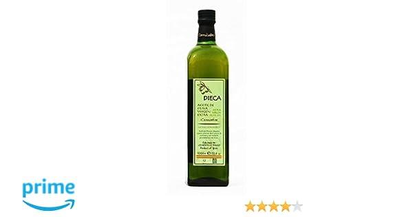 Dieca Aceite de Oliva Virgen Extra Cornicabra - 1000 ml: Amazon.es: Alimentación y bebidas