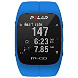 Polar Men's M400 90057184 Blue Silicone Quartz Watch