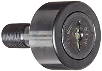 McGill CFH3 Cam Follower, Heavy Stud, Unsealed/Slotted, Inch, Steel, 3 Roller Diameter, 1-3/4 Roller Width, 2-1/2 Stud Length, 1-1/2 Thread Size, 4-9/32 Overall Length, 1-1/2 Stud Diameter - фото 6