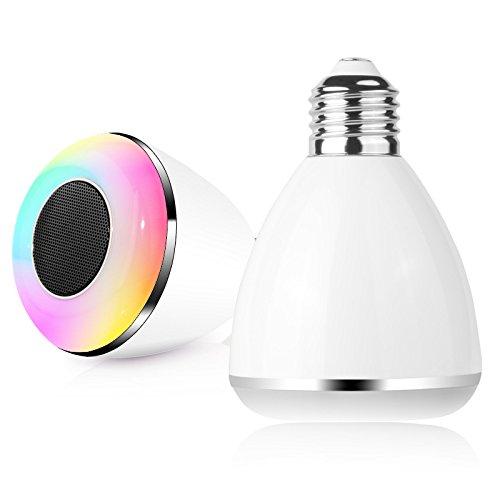 2015 new bl08a e27 3w playb wireless bluetooth 4 0 smart for Best bluetooth light bulb speaker