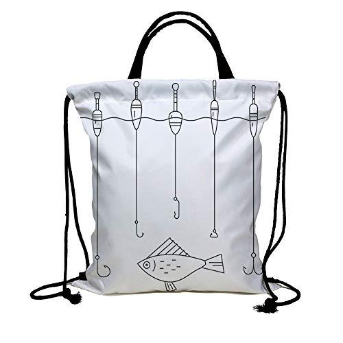 4d540a05dad5 Galleon - 3D Print Drawstring Bag String Backpack,Nautical Decor ...