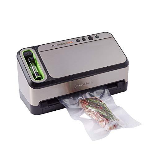 FoodSaver Vacuum Sealer 4800 Series 2-in-1 System with Starter Kit (Renewed)