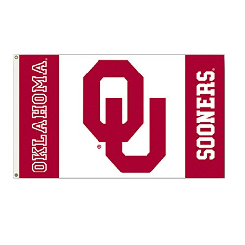 NCAA Oklahoma Sooners 3-by-5-foot Flag ()