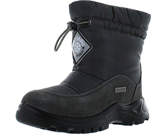 Naturino Kids Varna Rain Step Waterproof Winter Fashion Boots,Antracite,26