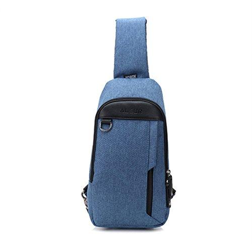 Blue Louis Vuitton Diaper Bag - 5
