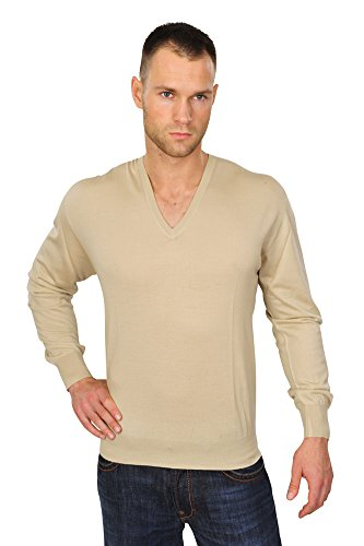 Brioni Pull Homme Beige 56