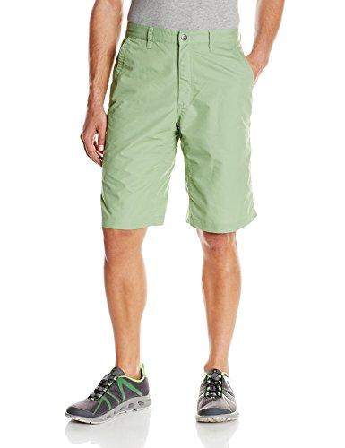 Mountain Khakis Men's Poplin Short Relaxed Fit, Mint, 35W/12-Inch