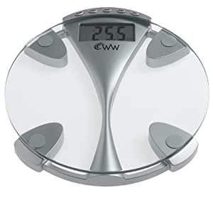 Weight Watchers by Conair Glass Memory Electronic Scale